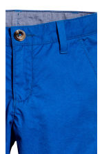 Cotton chinos - Cornflower blue - Kids | H&M CN 3